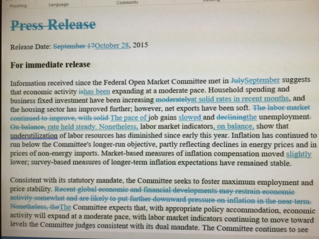 Fed changes from Sept. to Oct. Page 1