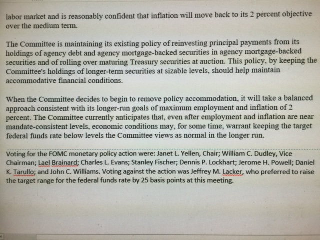 Fed FOMC Comparison Page 3