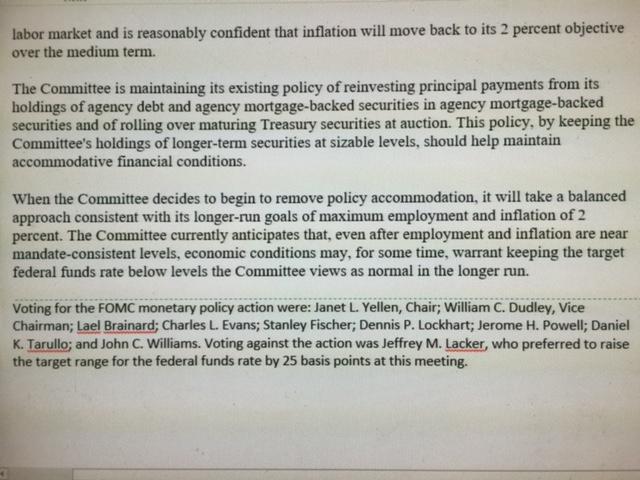 Fed FOMC Comparison Page 3
