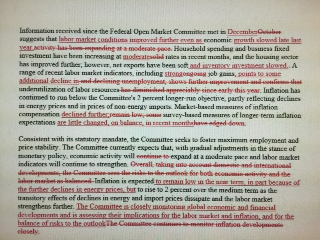 Federal Reserve FOMC 1